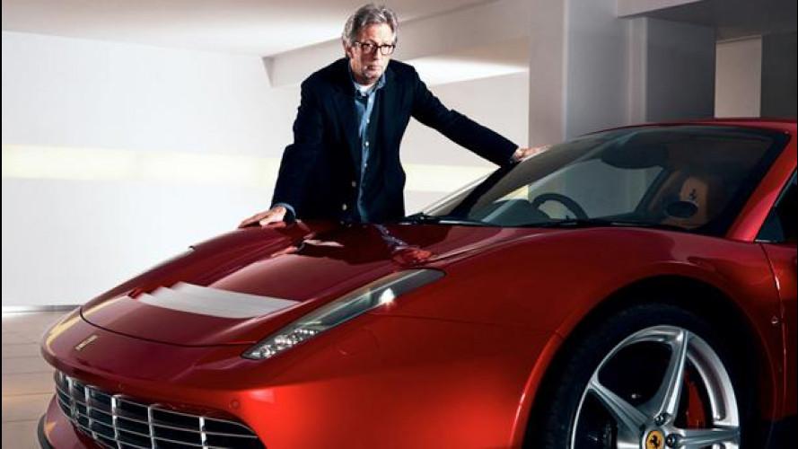 """Ferrari SP12 EC, la 458 speciale di Eric Clapton è """"ufficiale"""""""