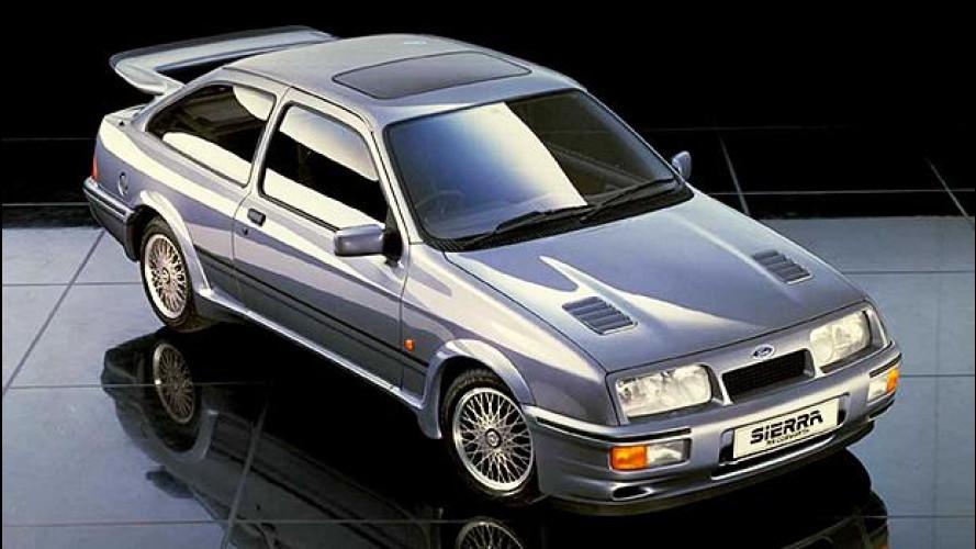 Ford Sierra Cosworth, la mamma delle cattivissime anni Novanta