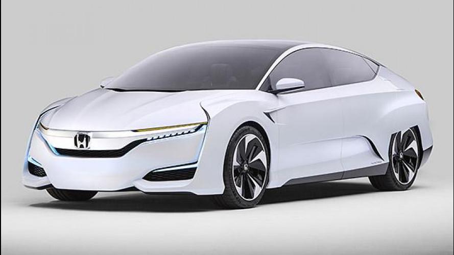 Honda FCV Concept, l'auto a idrogeno è fra noi