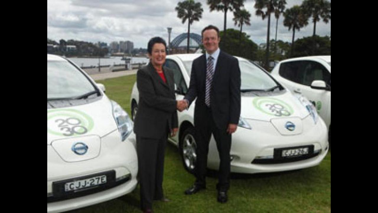 [Copertina] - Anche l'Australia ha fiducia nell'auto elettrica