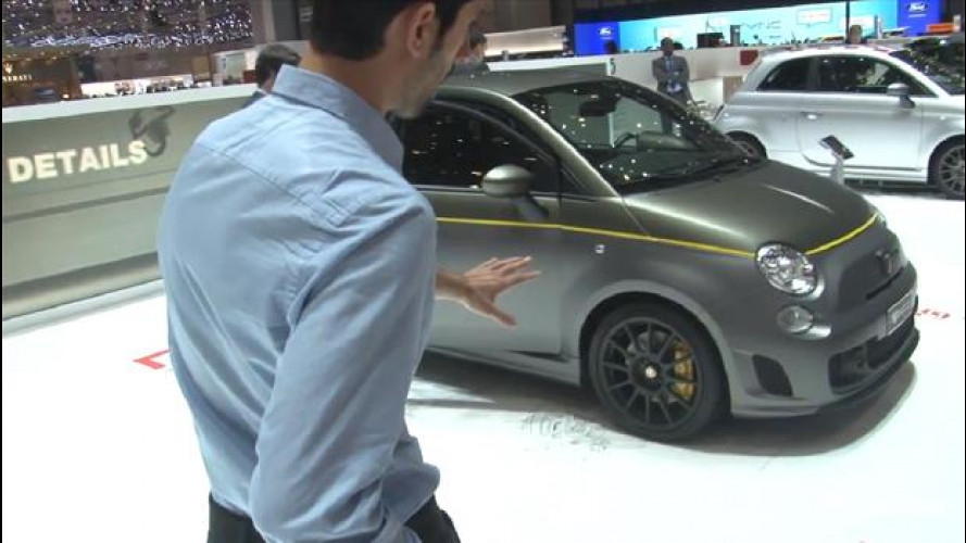 Salone di Ginevra: Abarth 695 Fuoriserie - Video LIVE