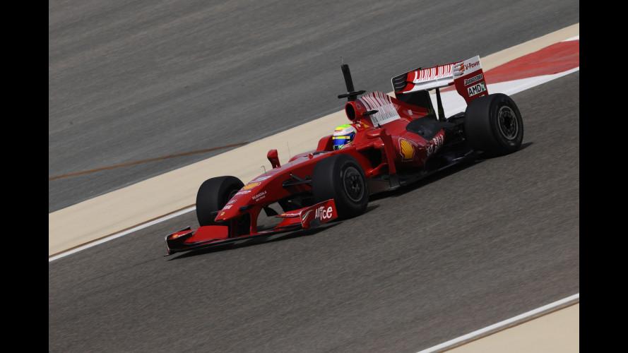 La Ferrari vola in Bahrain