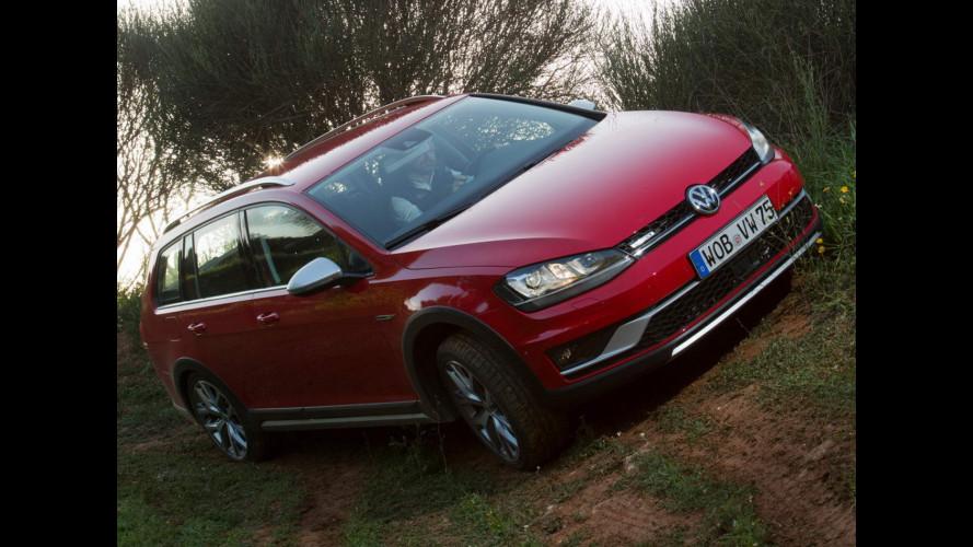 Volkswagen Golf Alltrack, la bestseller diventa a trazione integrale