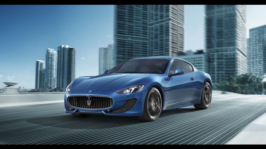 Maserati GranTurismo Sport, le prime foto