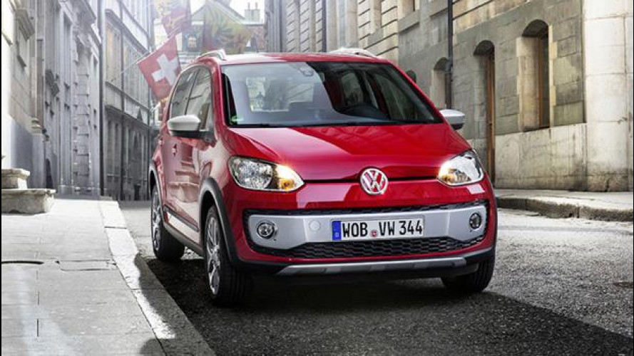 Volkswagen cross up!, prezzi da 14.950 euro