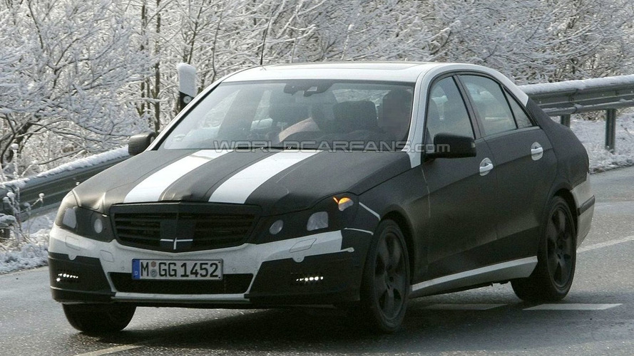 Mercedes E-Class Spied Again