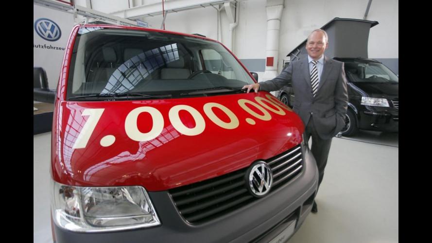 Volkswagen Transporter T5 a quota 1 milione