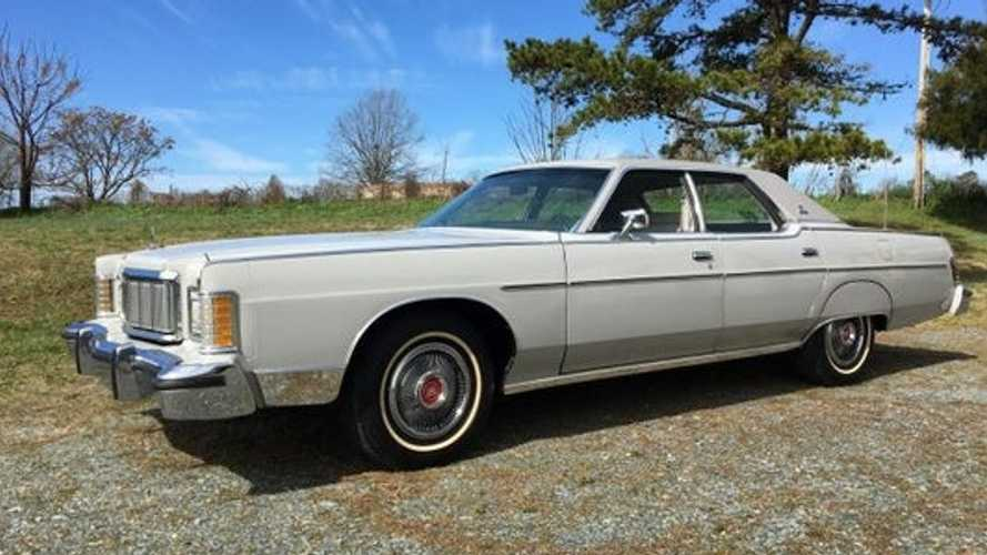 420-Mile 1977 Mercury Grand Marquis Sells For $15K