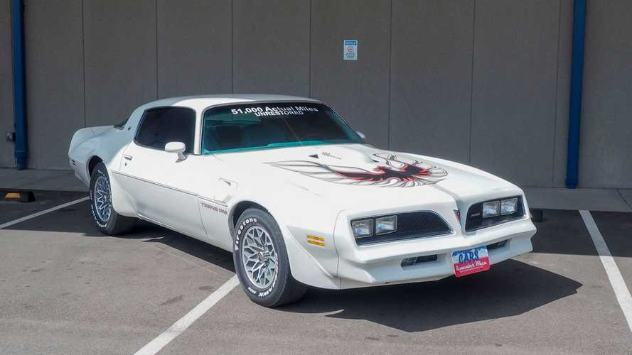 Unrestored, Low-Mileage 1978 Pontiac Trans Am