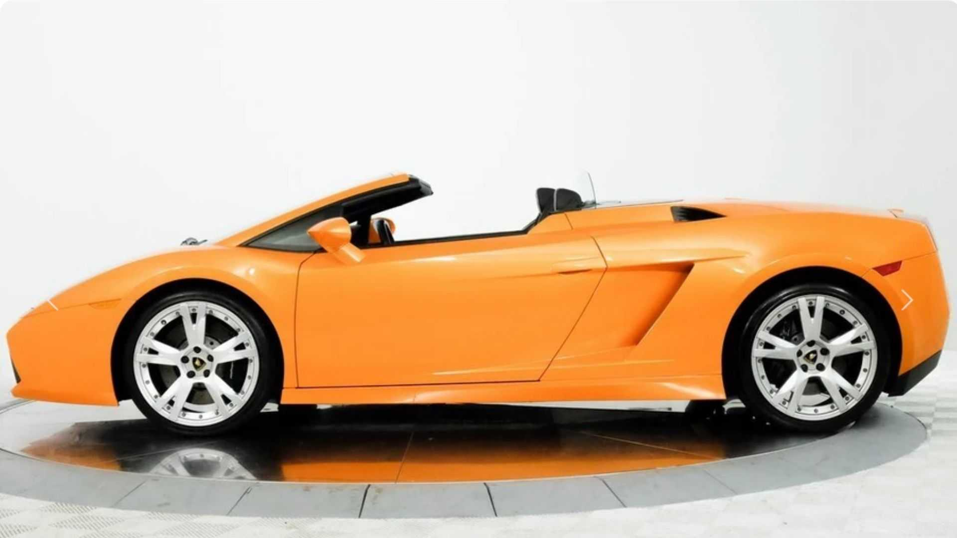 "[""Roll Hard In A 2008 Lamborghini Gallardo Spyder""]"