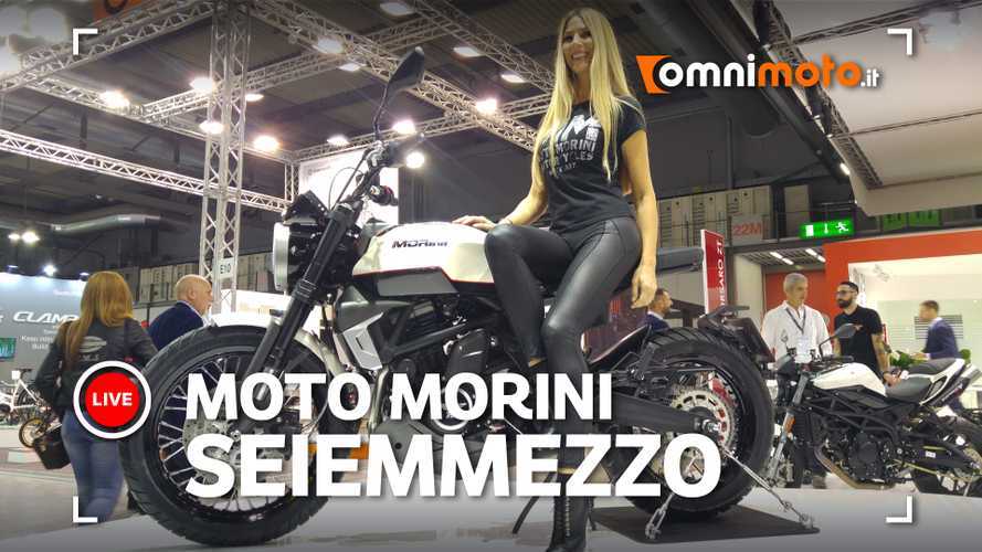 Moto Morini Seiemmezzo, la scrambler media che mancava