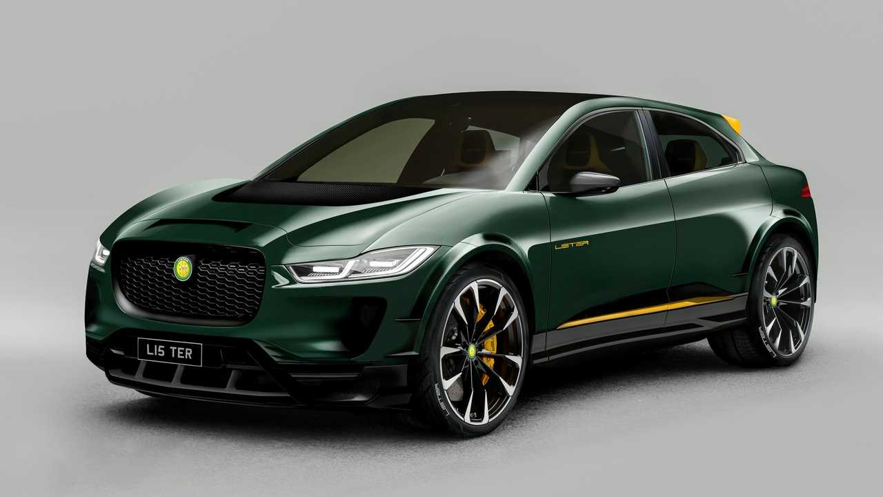 Check the Lister SUV-E, The Hottest Jaguar I-Pace To Date