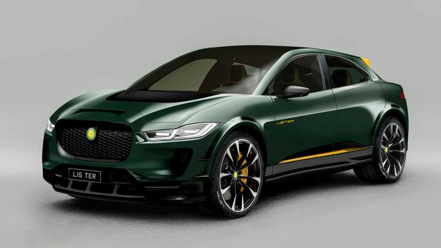 Lister presents the SUV-E, a high-performance Jaguar I-Pace