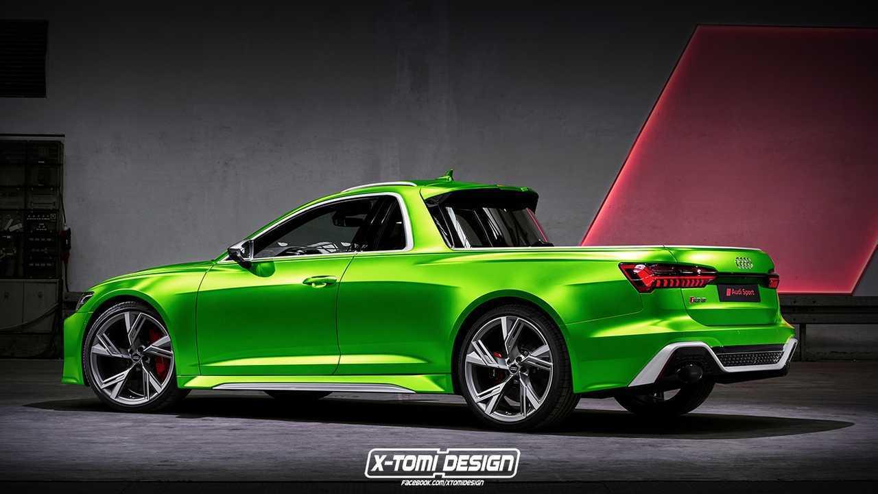 Пикап в стиле Audi RS6