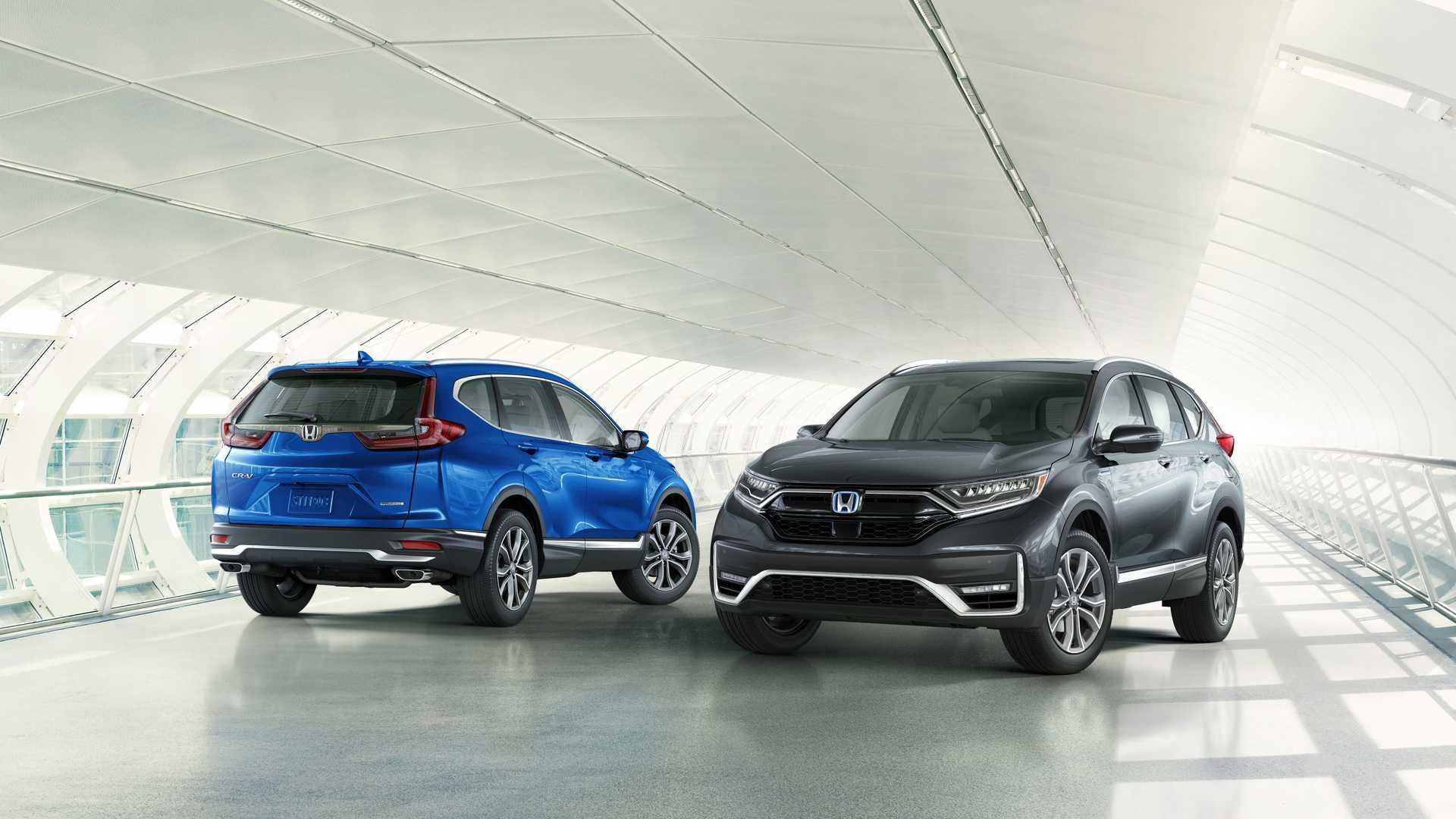 Honda Cr V 2020 Estreia Com Mudan 231 A Visual E Vers 227 O H 237 Brida