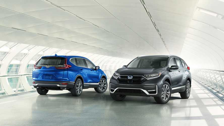 Обновленный Honda CR-V приедет в Россию со старыми моторами