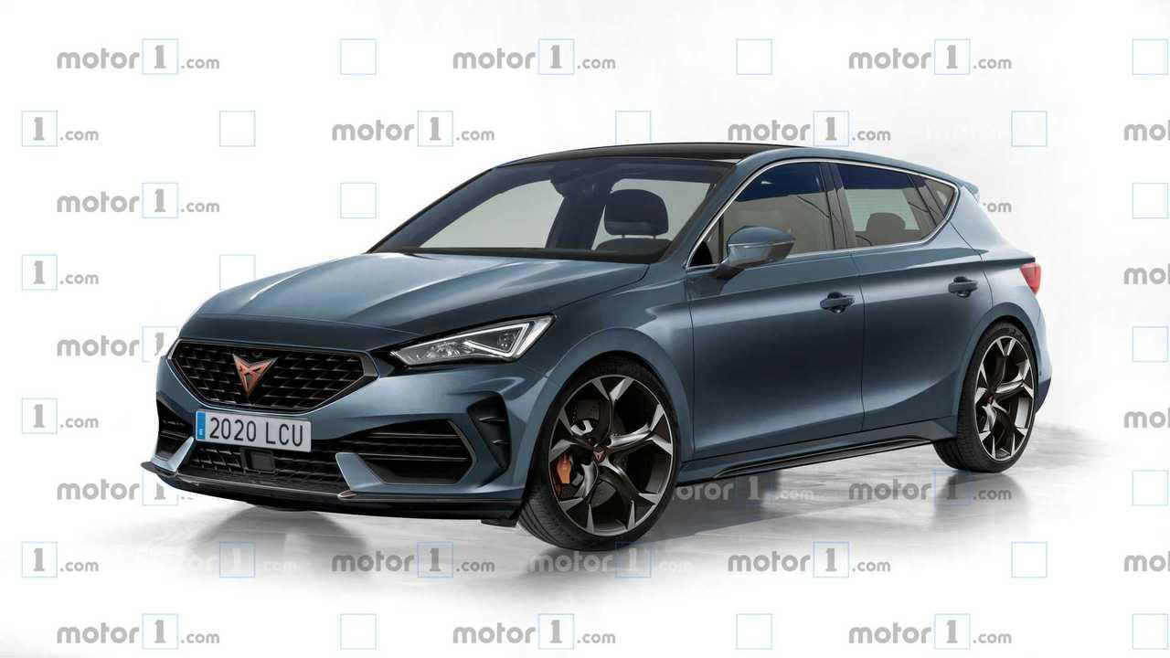 2020 Cupra Leon Motor1 Hayali Tasarımı (Render)