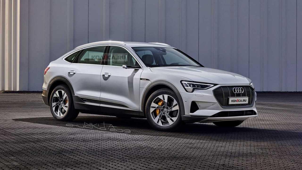 Audi E-Tron Sportback new rendering