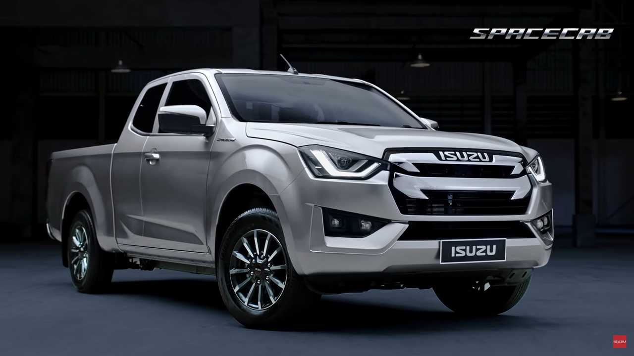 2020 Isuzu D Max Debuts Its New Truck Bod In Thailand