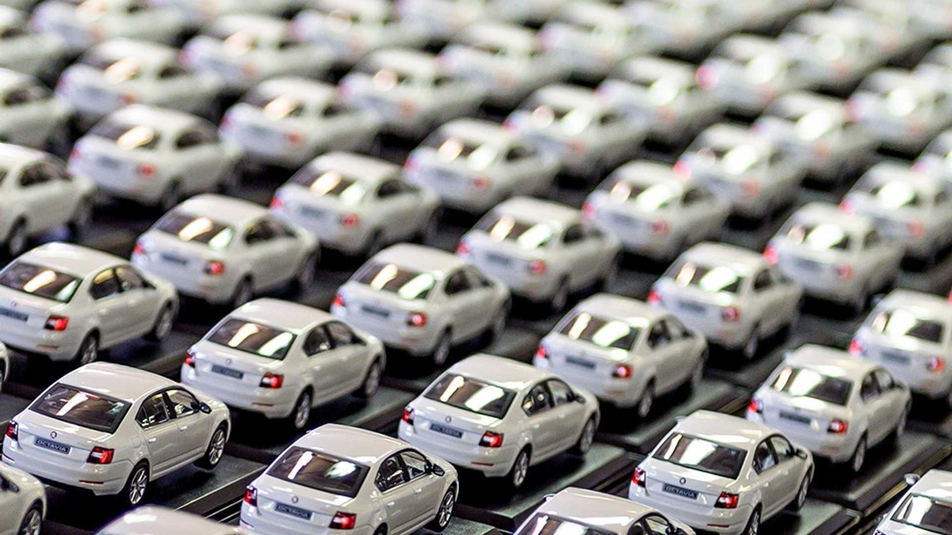 This is how car manufacturers produce scale models
