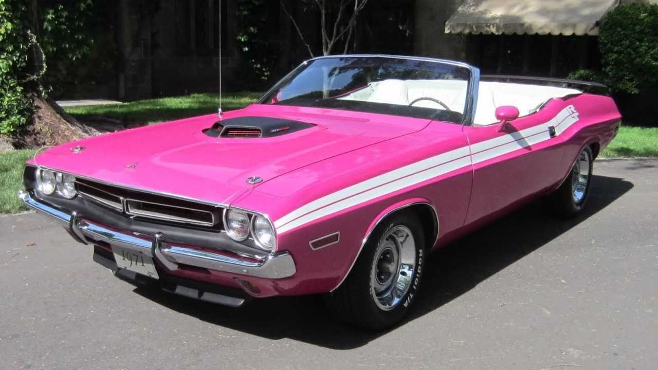 Drop Your Top In A 1971 Dodge Challenger R/T Convertible