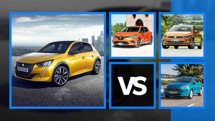Nouvelle Peugeot 208 - Mesures, moteurs et prix face à la concurrence
