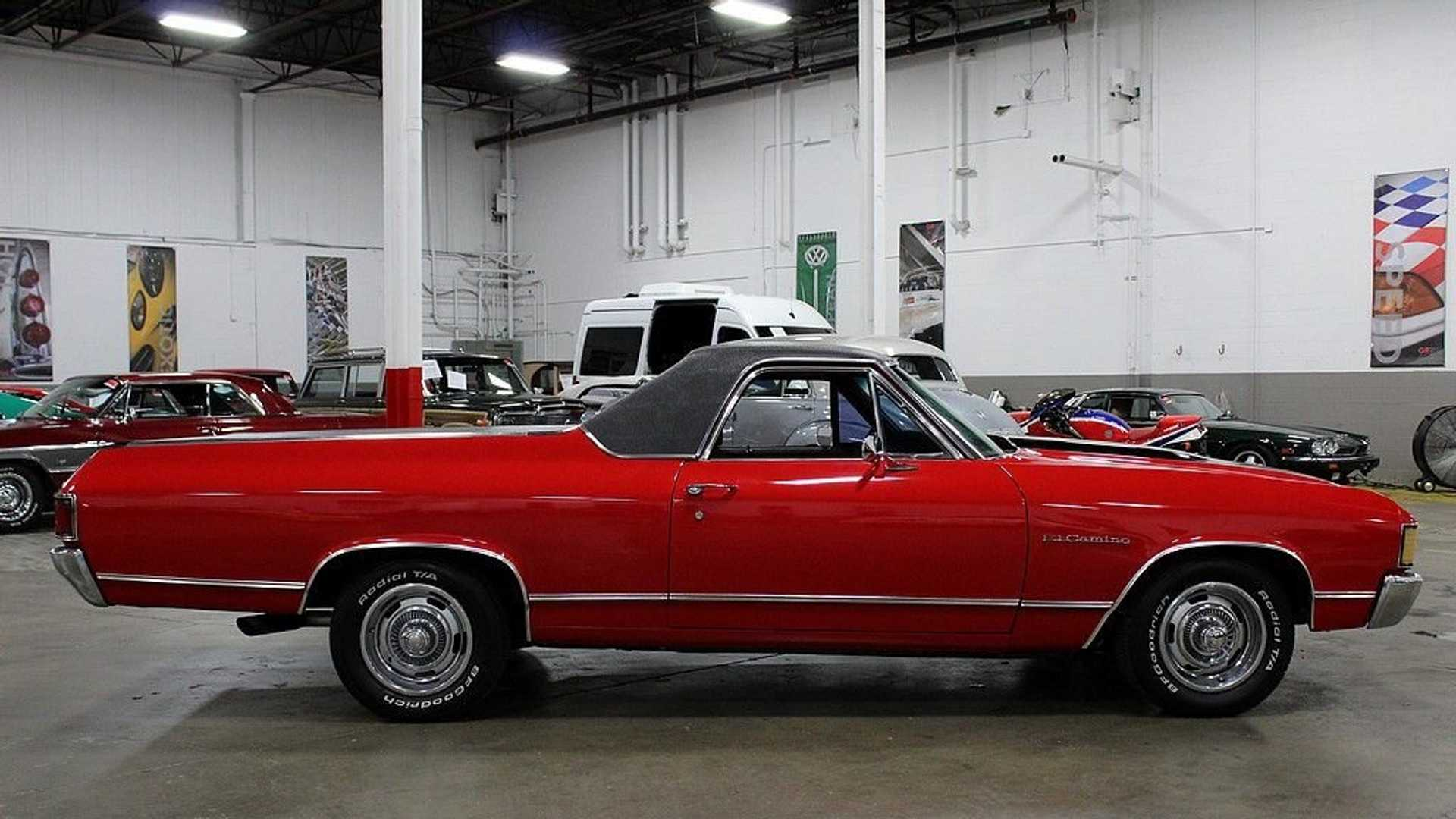 """[""""Drive Off Into The Sunset In This 1972 Chevy El Camino""""]"""
