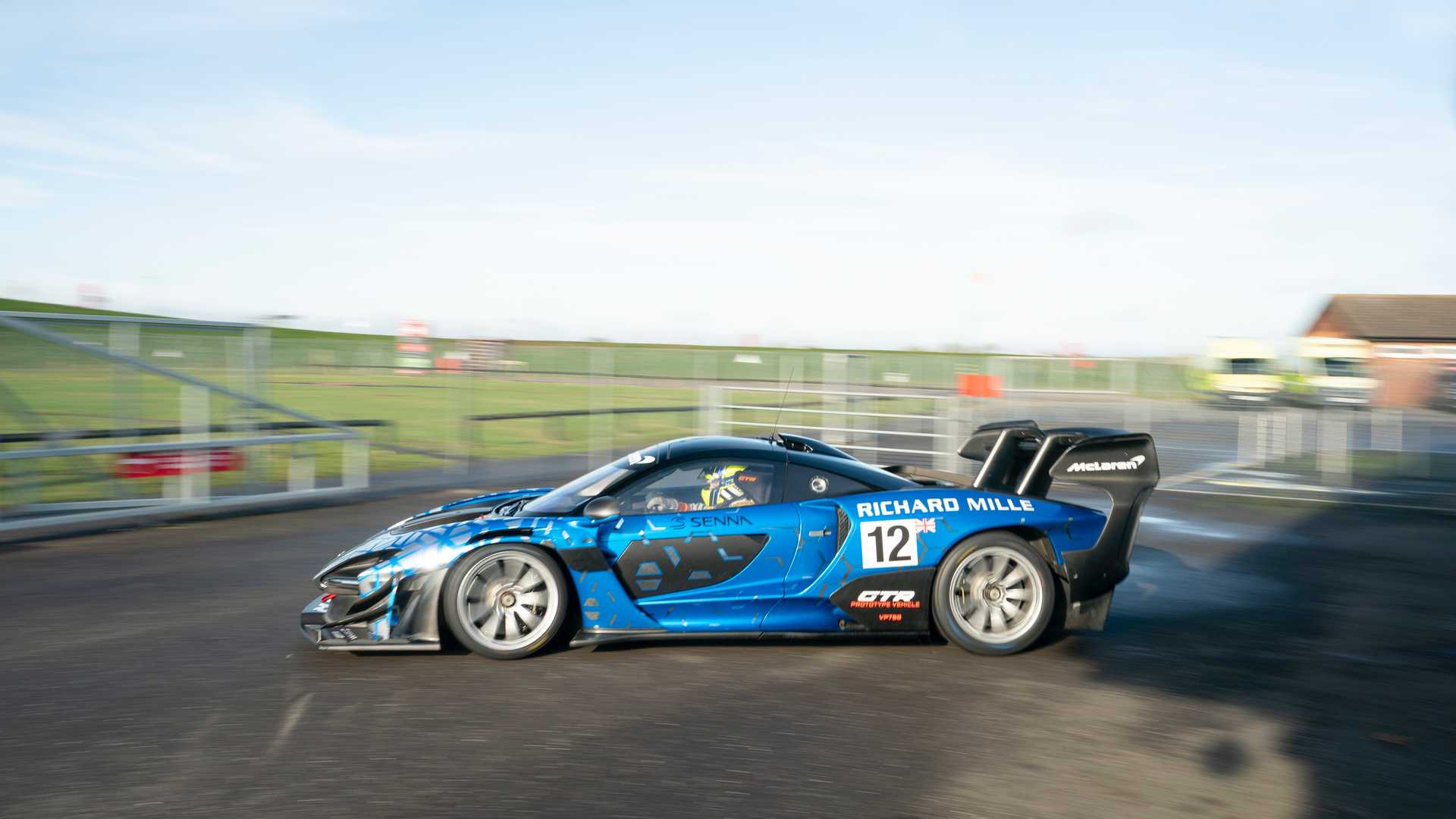 Senna McLaren GTR First Drive Review