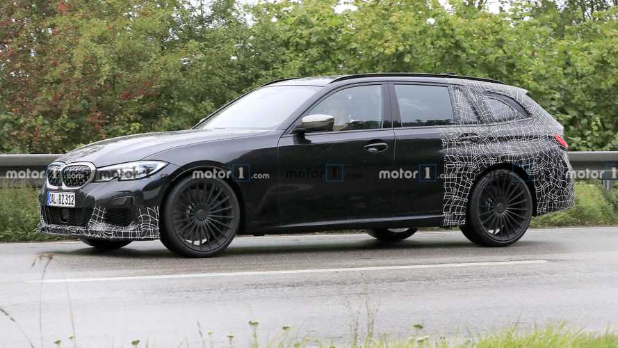 Alpina B3 Touring Spied Wagging Its Tail Ahead Of Frankfurt Debut
