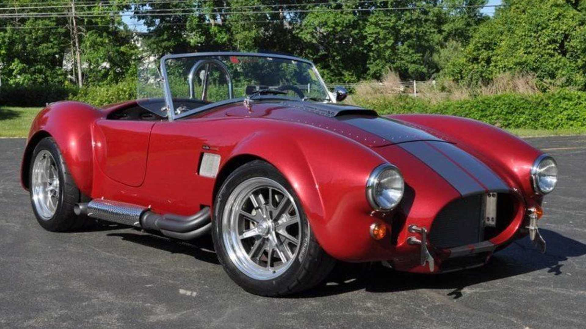 "[""Backdraft Racing 1965 Cobra Up For Grabs""]"