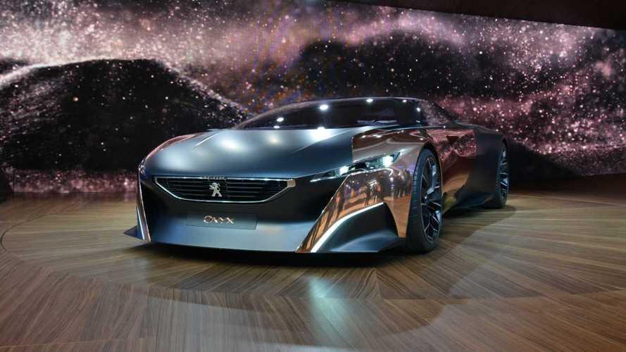 Peugeot Onyx, supercar in rame e fibra di carbonio