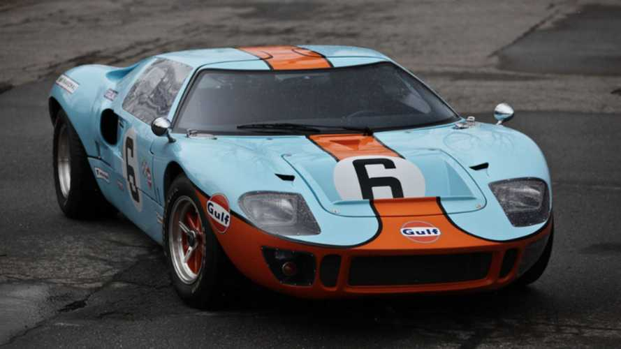 Trash Ferraris In This CAV GT40 In Gulf Livery