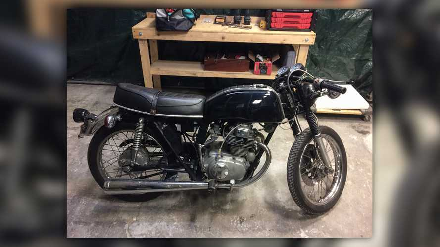 Electric Honda CB200