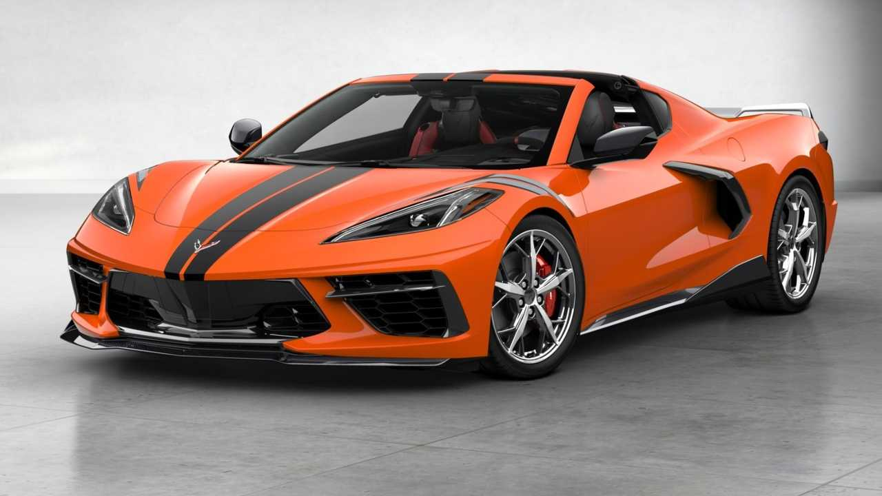 2020 Chevy Corvette Stingray Coupe Most Expensive Version