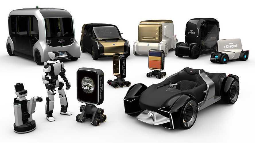 Toyota al Salone di Tokyo mostra la mobilità del futuro