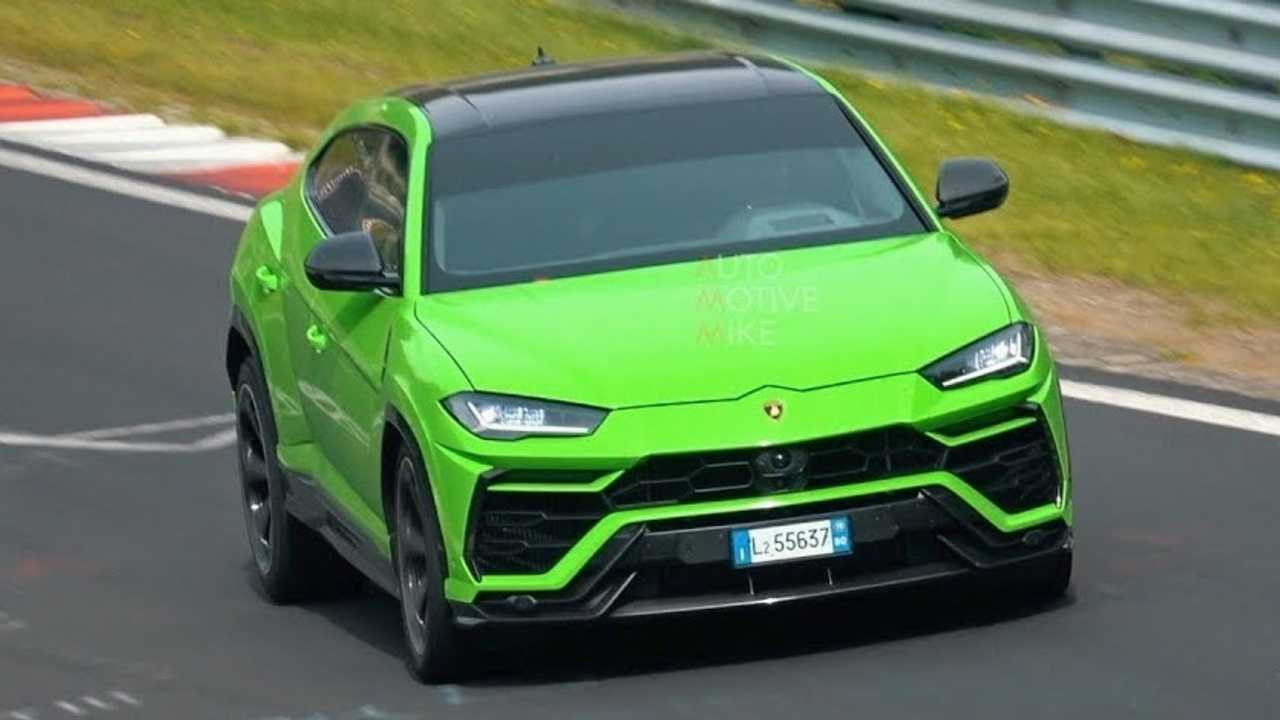 Lamborghini Urus Nurburgring Spy Video