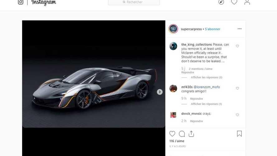 Une inédite McLaren apparaît sur le net, est-ce la BC-03 ?