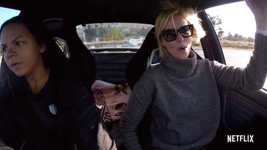 See Charlize Theron Go Drifting In Latest Netflix Hyperdrive Trailer