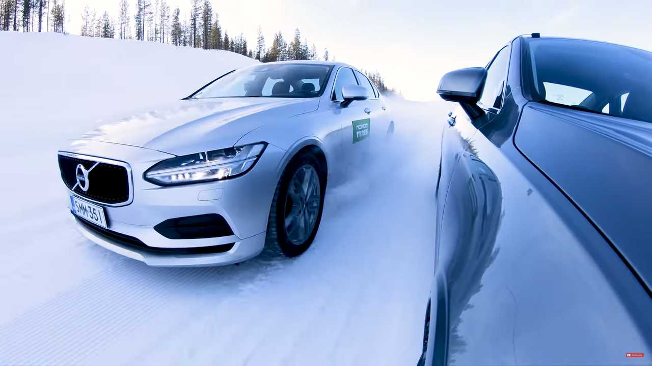 Video Shows Differences Between Cheap And Expensive Snow Tires