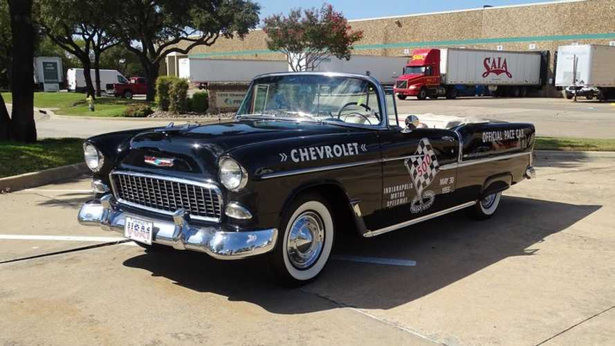 1955 Chevrolet Bel Air Pace Car Tribute Hammers For $61K