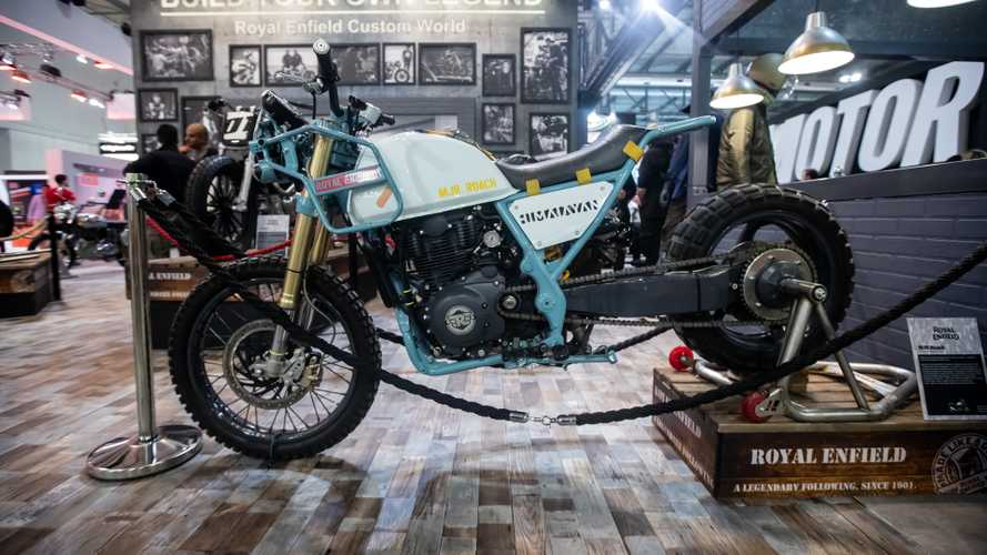 Royal Enfield MJR Roach, la Himalayan turbocompressa