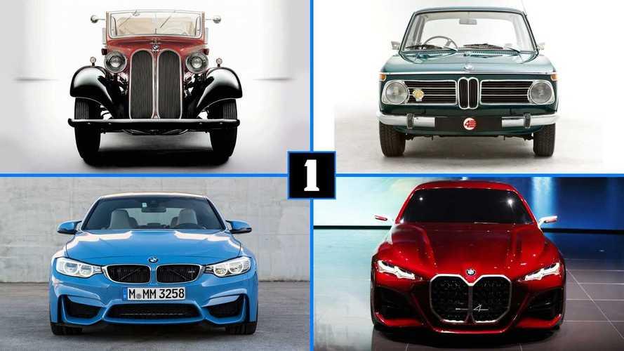 DIAPORAMA - L'évolution de la calandre BMW à travers le temps