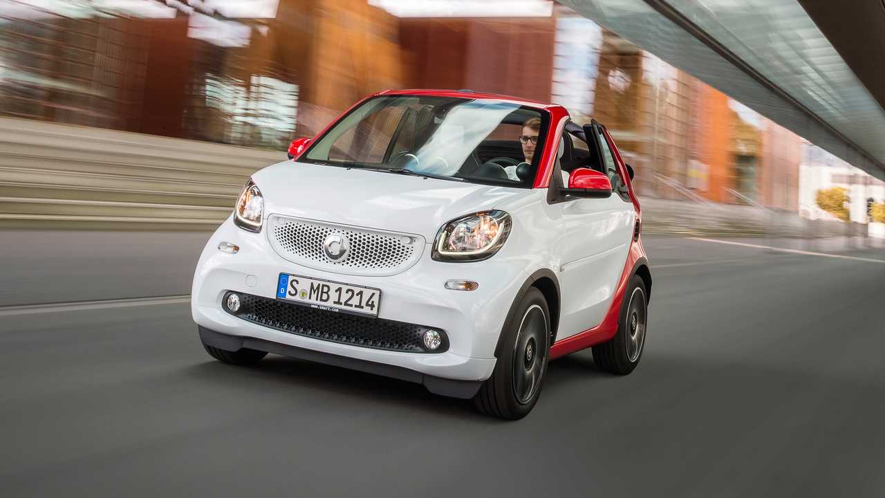 No. 1 Best: 2016 Smart ForTwo Cabrio