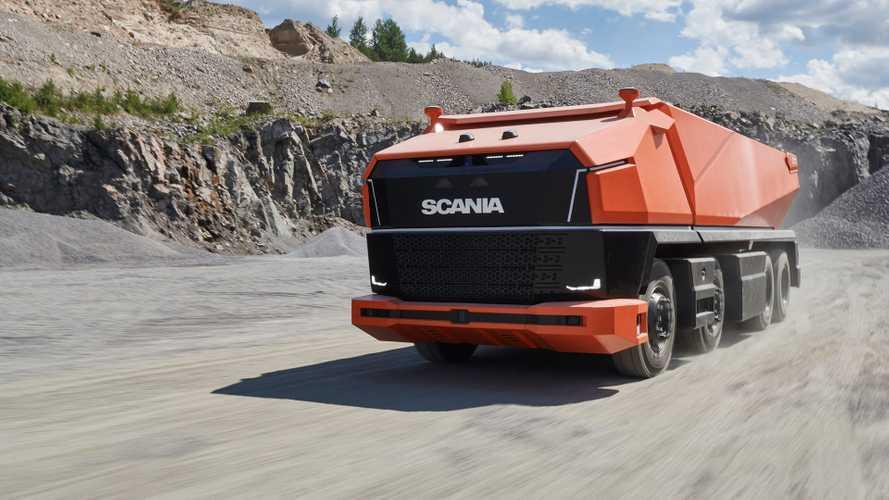 Scania AXL, Camion concept a guida autonoma