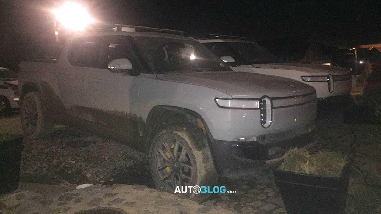 Rivian R1T Reveals Design Changes At Tierra Del Fuego Shots