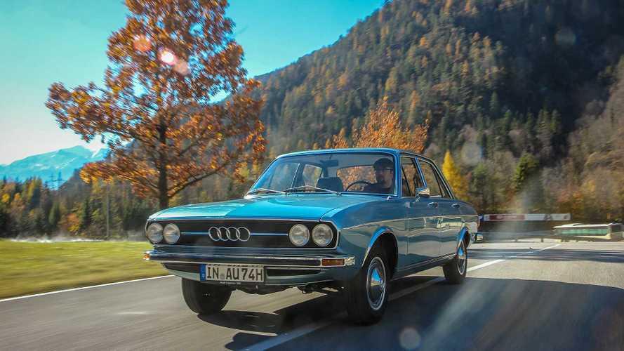 Zeitreise: Unterwegs im Audi 100 (1968-1976)