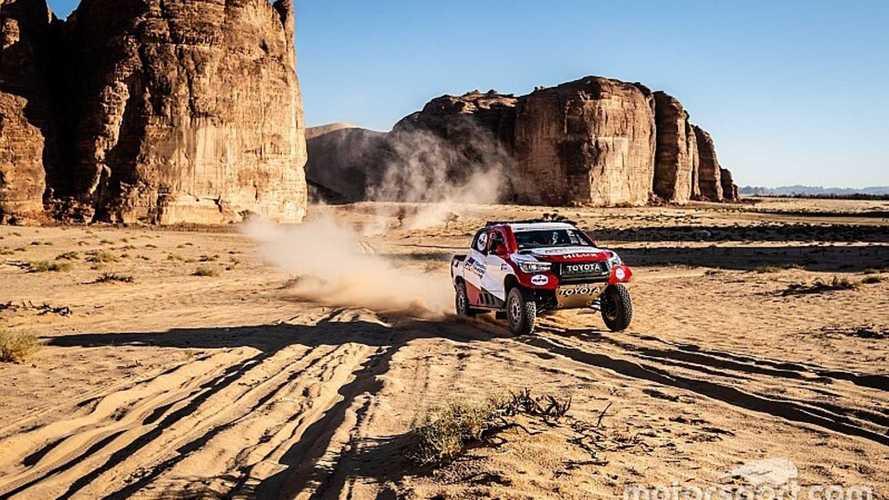 Alonso acaba cuarto la primera etapa del Rally Ula Neom
