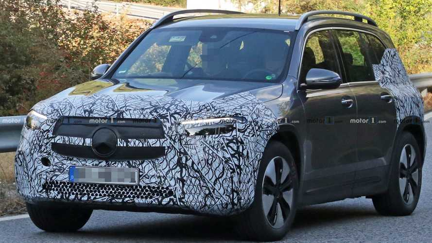 Mercedes EQB Spied Looking Almost Ready For Production