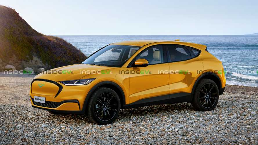 Ford Mach E Rendering | InsideEVs Photos