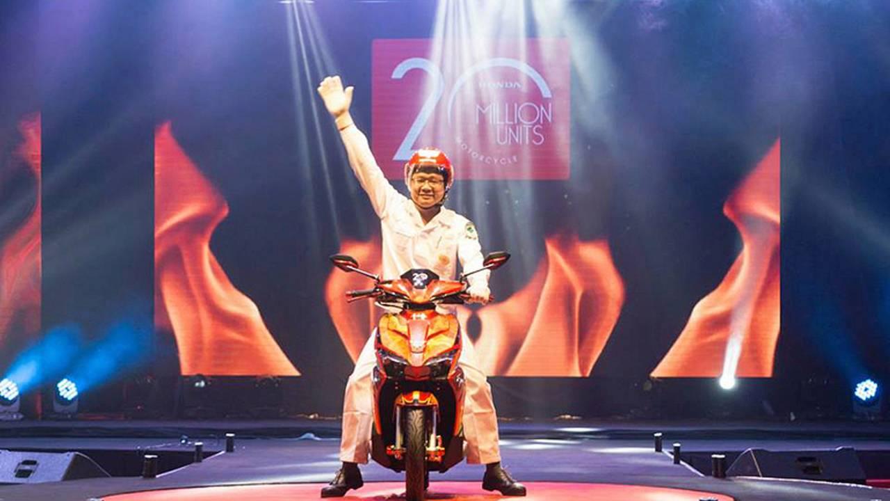 Honda Vietnam Produces 20 Million Motorcycles
